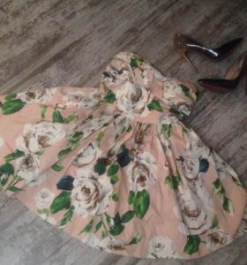 Крутое летнее платье