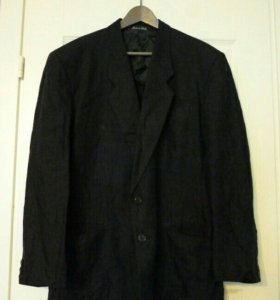 Пиджак Giorgio Armani XL 52 лён