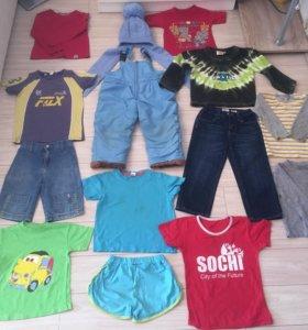 Пакет вещей на мальчика 98-104 размер