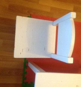 Детский стол и стульчик Икеа