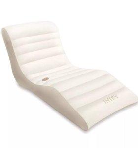 Надувной матрас-шезлонг