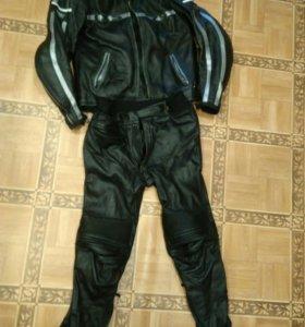 Штаны и куртка кожаные