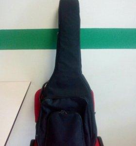 Чехол для акустической гитары утепленный