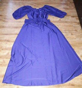 Новое платье в пол 48 размер