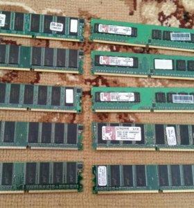 Оперативная память ddr2 на 256 и на 512
