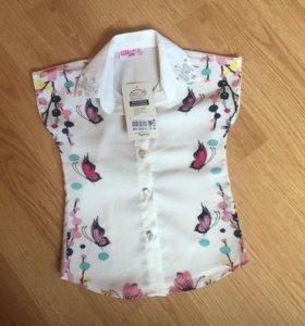 Новая блузка на рост 98-104