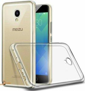 Силиконовый чехол Meizu M5