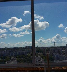 Раздвижные окна на балкон б/у