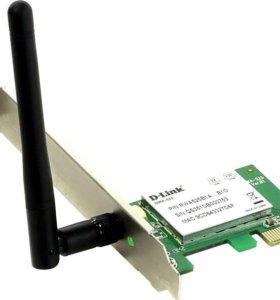 Сетевой адаптер WiFi D-link DWA-525