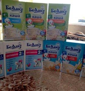 Детская молочная смесь и каши