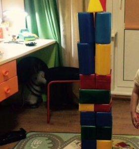 Кубики большие много
