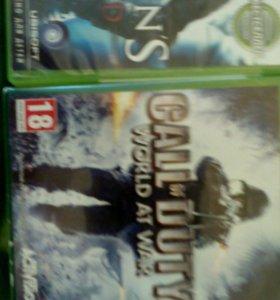 3 игры для Xbox 360 Возможен обмен