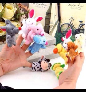 Кукольный театр на пальцы