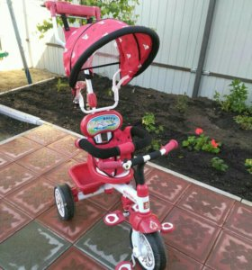 Велосипед трёхколёсный детский В хорошем состоянии