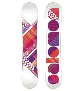 Женский сноуборд комплект Salomon новый