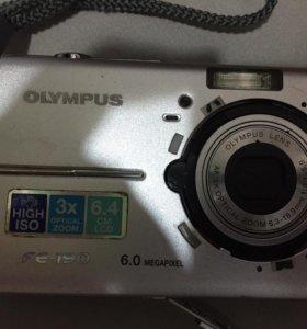 На запчасти фотоаппарат olympus