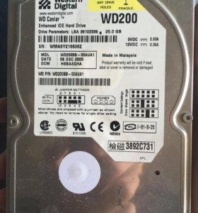 Жесткий диск 20gb