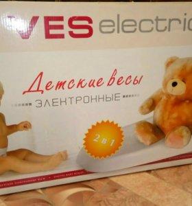 Детские электронные весы Ves electronic