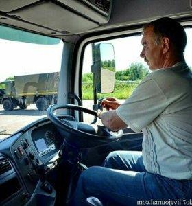Водитель на грузовую машину