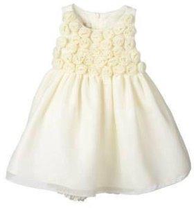 Новое нарядное платье , размер 12 мес , США