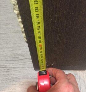 Дверь межкомнатная с коробкой(ширина полотна 70 см