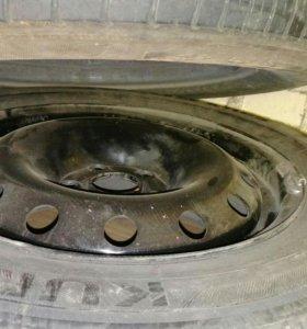 3 колеса в сборе