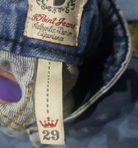 джинсы женские ,одеты пару раз 29 размер