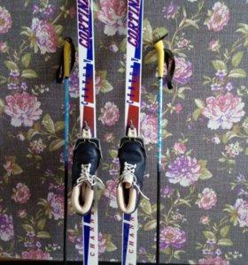 Лыжи женские