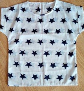 Блузка шелковая новая