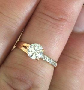 Кольцо золото 585