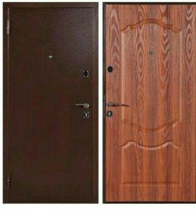 Дверь входная,2 замка, с фрезеровкой