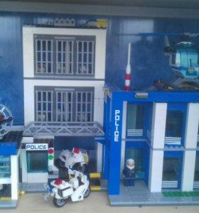 Лего полицейский участок