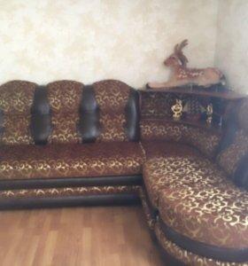 Угловой диван с кресла