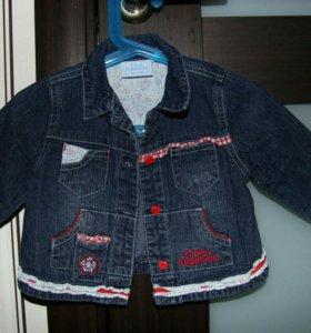 Куртка на девочку р 62-68