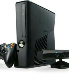 Прошитый Xbox 360 + Kinect на 500 ГБ