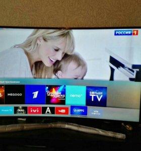 """Samsung Curved 49"""" 4K UHD Smart TV UE49KU6172U"""