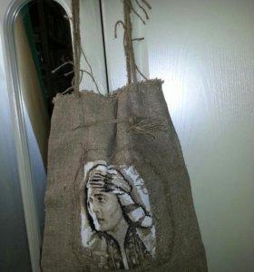 Сумка вышивка ручная работа