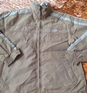 Куртка свитер и две рубашки на мужч 48размера