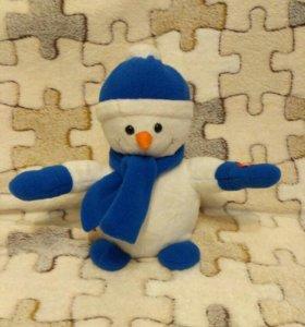 Снеговик музыкальный