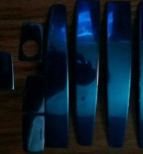 Хромированные накладки на ручки дверей ШевролеКруз