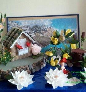 Интерьерно-игровая композиция с конфетами