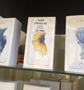 Новый iPhone 6s 64 gb