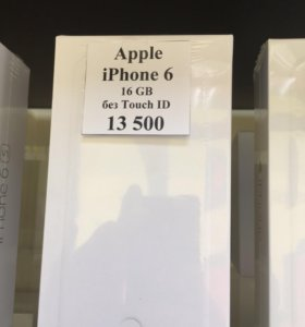 Новый iPhone 6 16gb без пальца