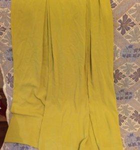 длинная юбка красивого цвета