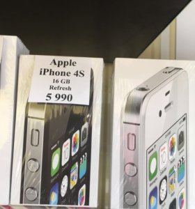 Новый iPhone 4s 16 gb