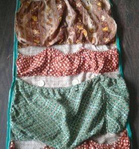 Вместительная сумка для разных штучек