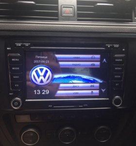 Оригинальная магнитола для VW/Skoda/Seat