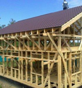 Опытная бригада построит каркасные дома
