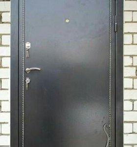 Двери входные с ковкой