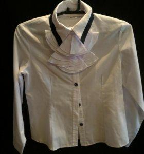 Блузка школьная размер 146